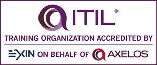 Centro de Treinamento ITIL Acreditado pela EXIN em nome da AXELOS
