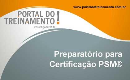 Preparatório para Certificação PSM®