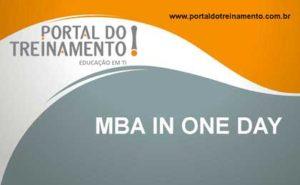 MBA in one day - Portal do Treinamento